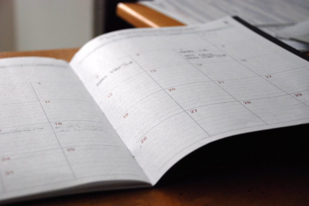 Foto Planungsbuch