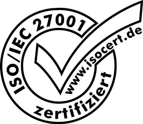Logo Zertifikat ISO-27001