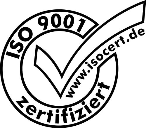 Logo Zertifikat ISO-9001