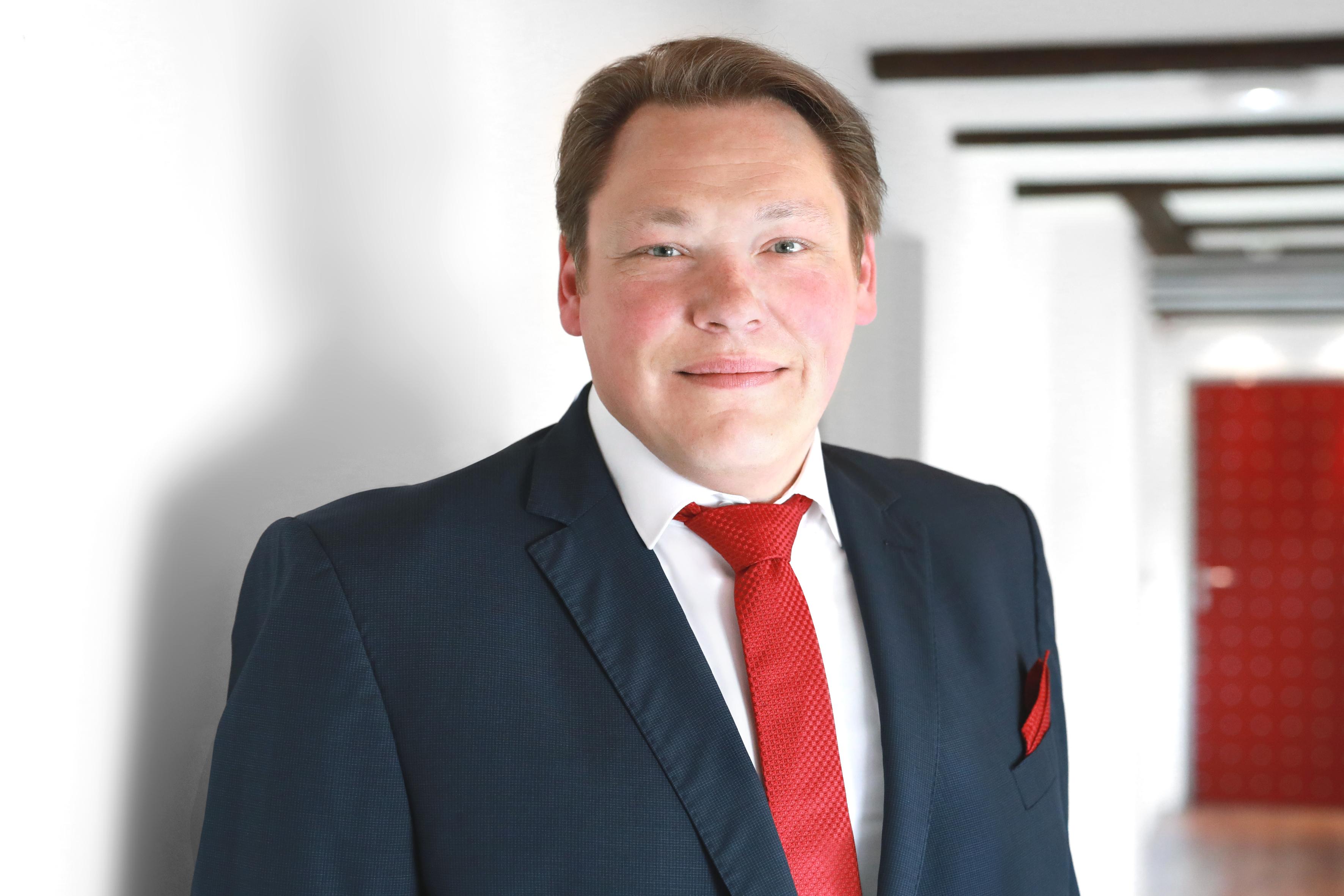 Portrait WIAG Vorstand Carsten Lückel