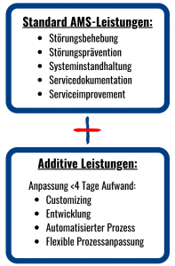 SAP AMS Plus Leistungen