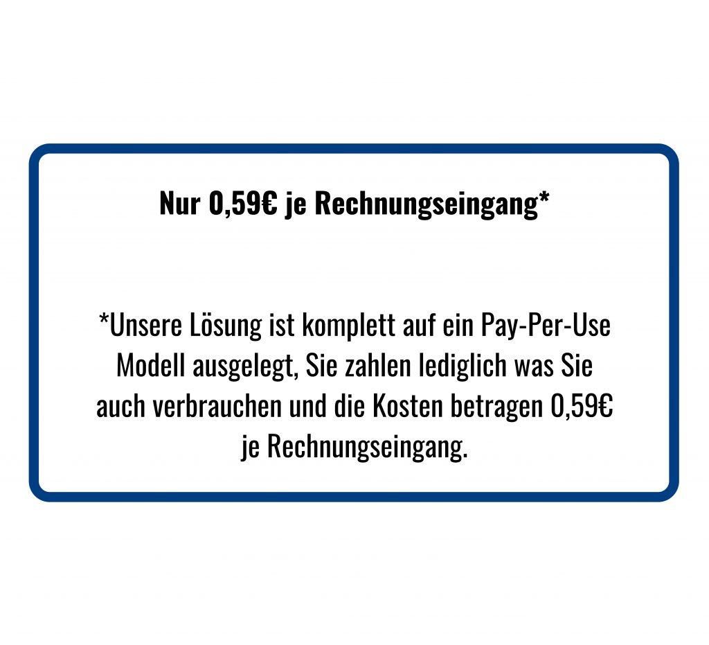 Rechnungseingang SAP Pay per Use